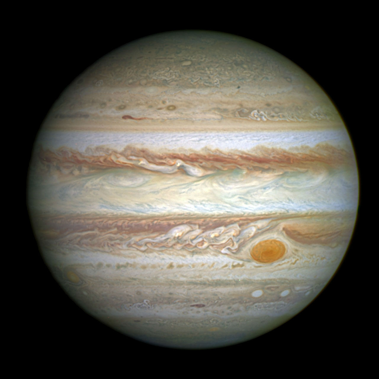 Researcher solves the mystery of 'The Great Red Spot' on Jupiter,