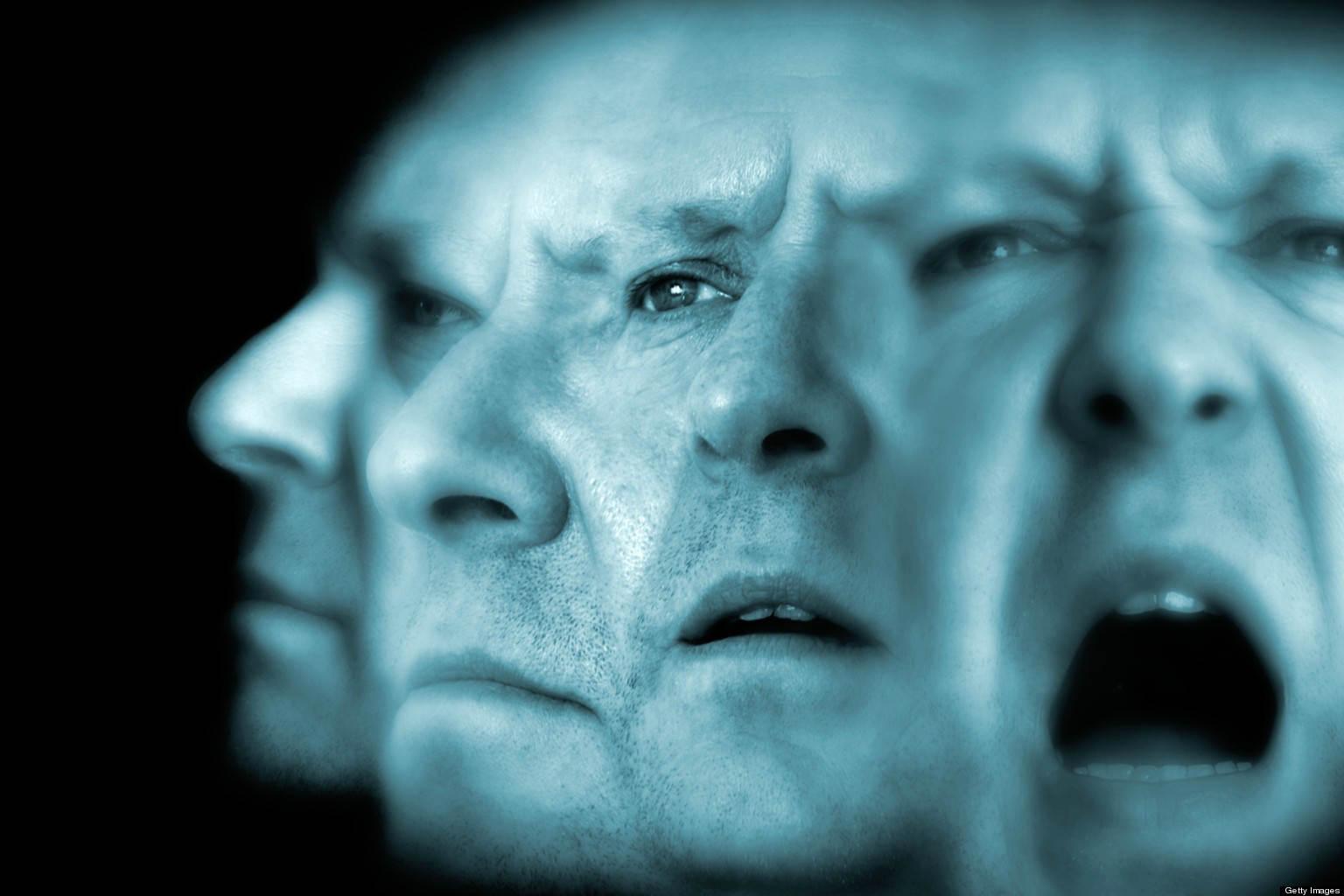 man develops schizophrenia due to permanent stress