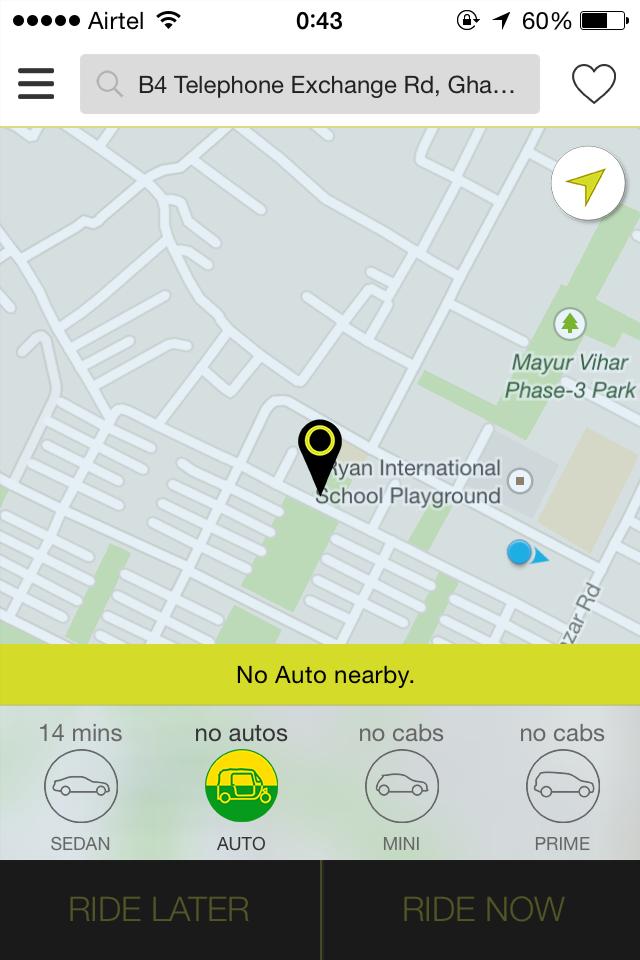 Ola Cabs auto rickshaws tecake.com