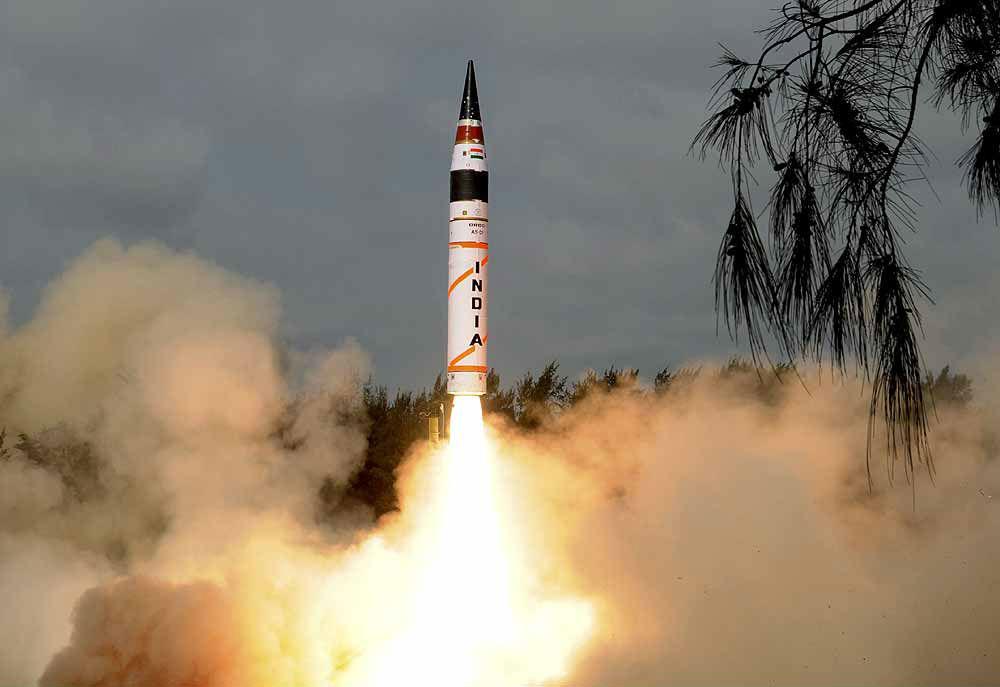 India successfully tested Agni V