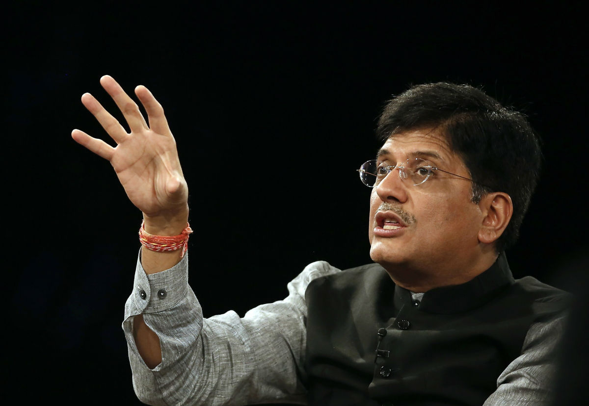 Coal and Power Minister Piyush Goyal on coal auction