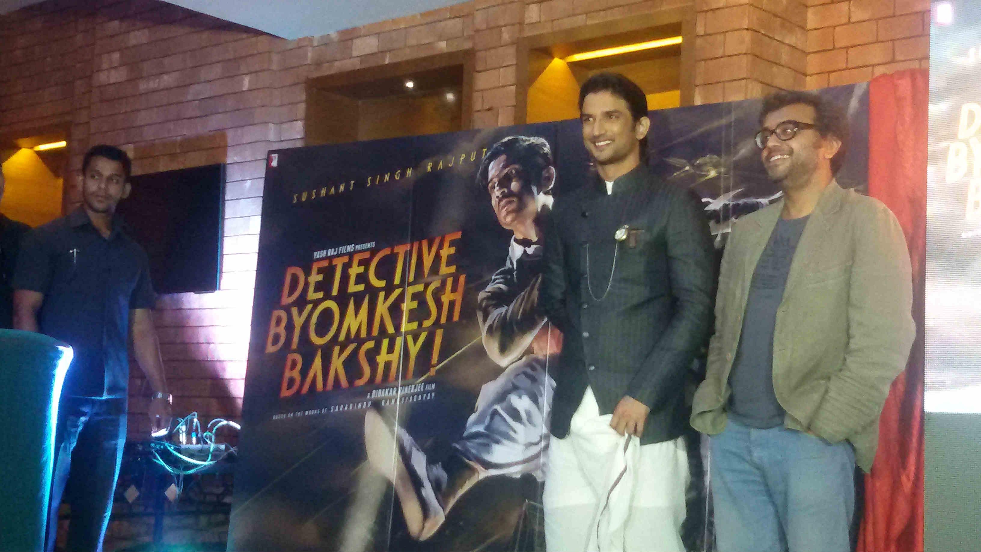 Sushant's Detective Byomkesh Bakshy trailer released