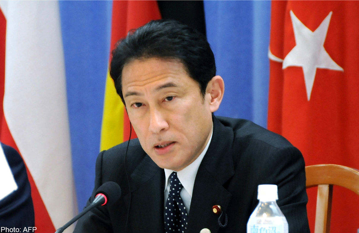 Foreign Minister Fumio Kishida