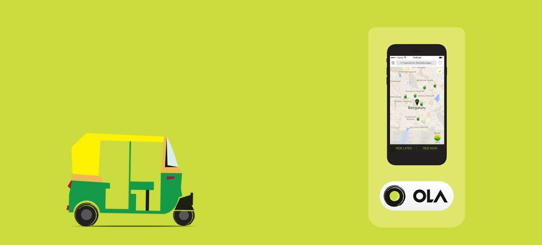 Ola Cabs Auto Rickshaw on demand service