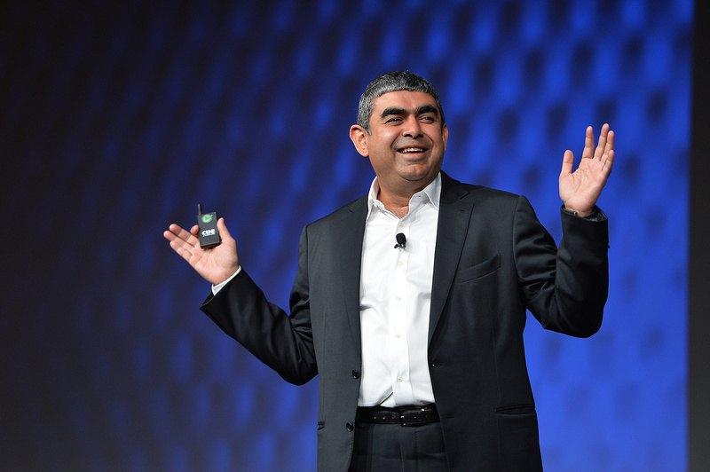 vishal-sikka-infosys-CEO-iPhone-employees-tecake