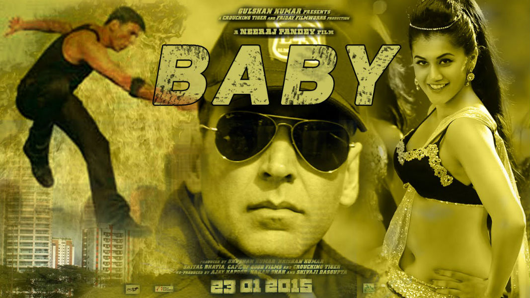 Baby Akshay kumar movie poster tecake