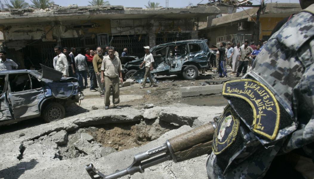 Baghdad suicide bombing tecake
