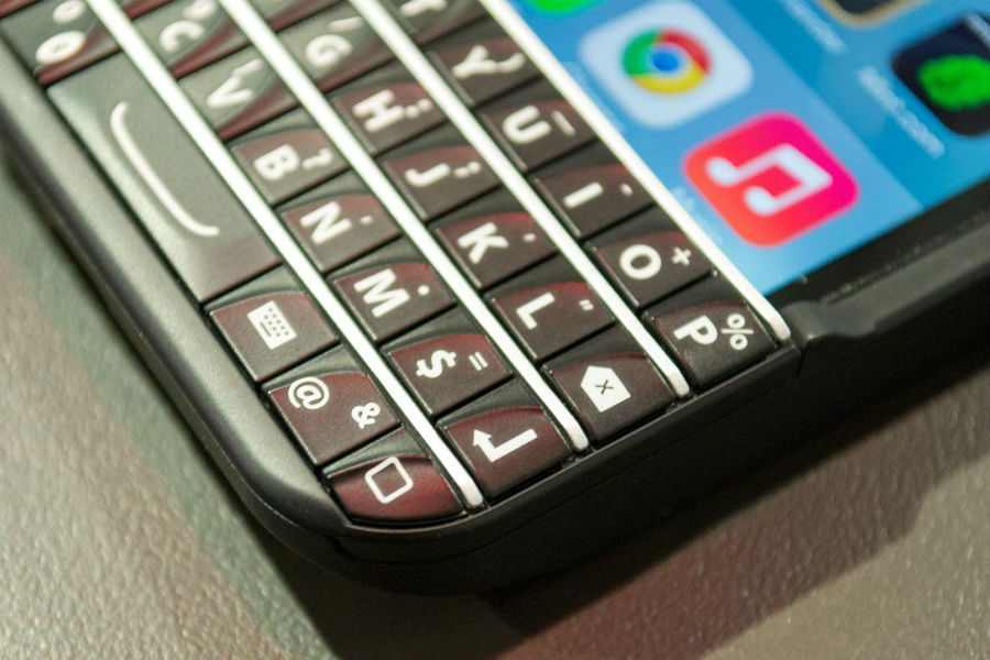 BlackBerry teCake