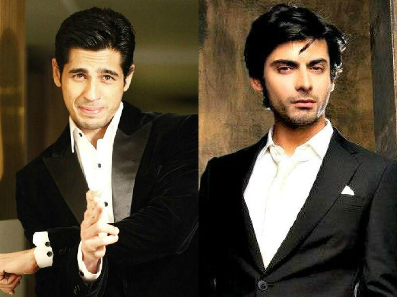 Fawad Khan and Siddharth Malhotra