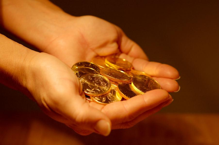 Gold Coins -TeCake