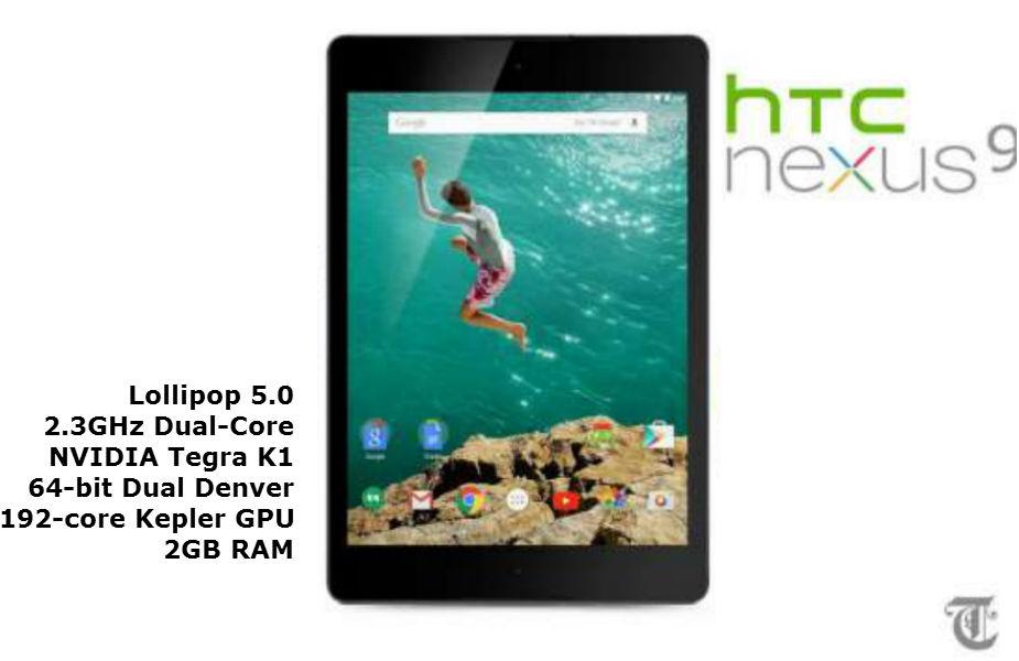 HTC nexus 9 tecake