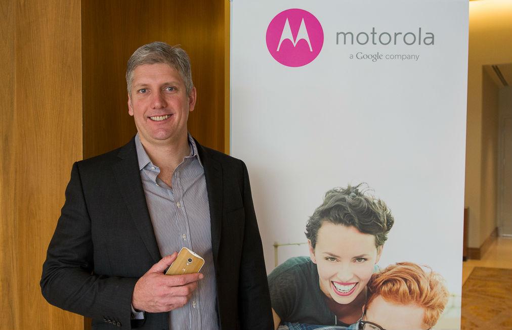 Motorola President Rick Osterloh TeCake