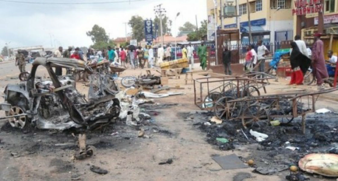 Nigerian girl suicide bombed -TeCake