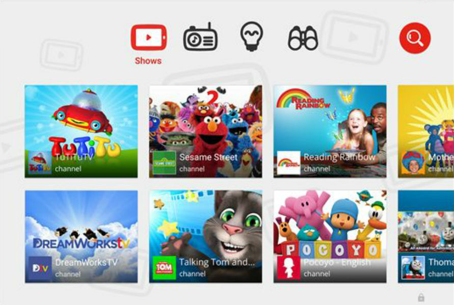 YouTube Kids app -TeCake