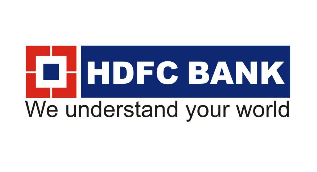 hdfc logo tecake