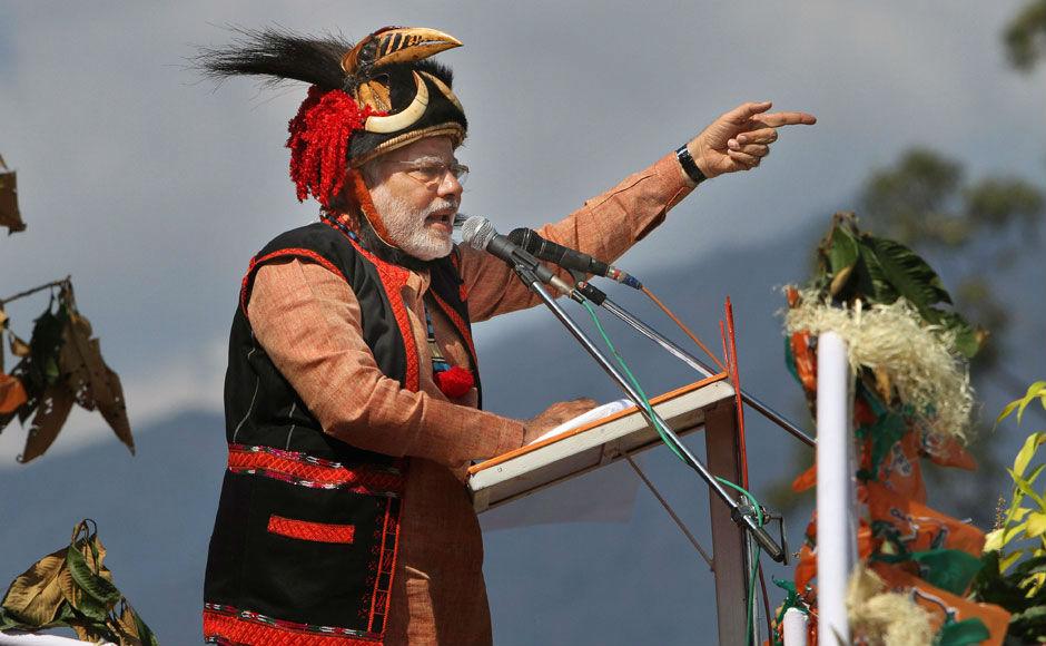 PM Modi promotes progress in Arunachal Pradesh