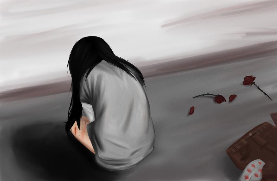 rape poster tecake