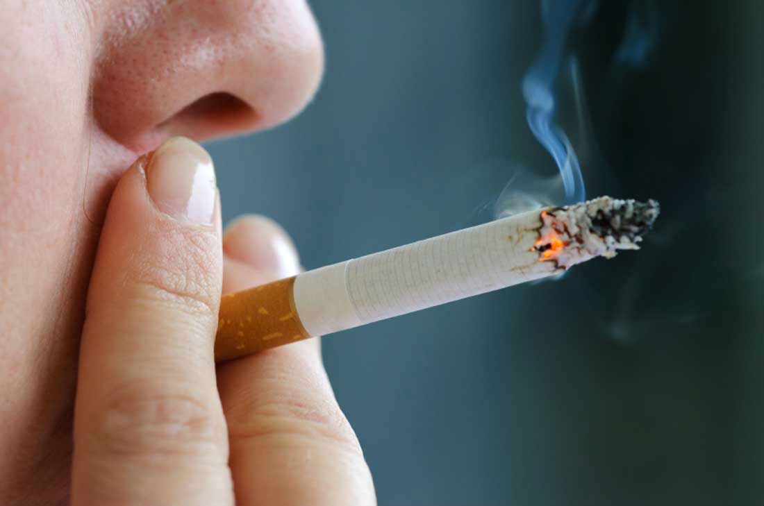 Smokers suffer memory loss due to thinner cortex