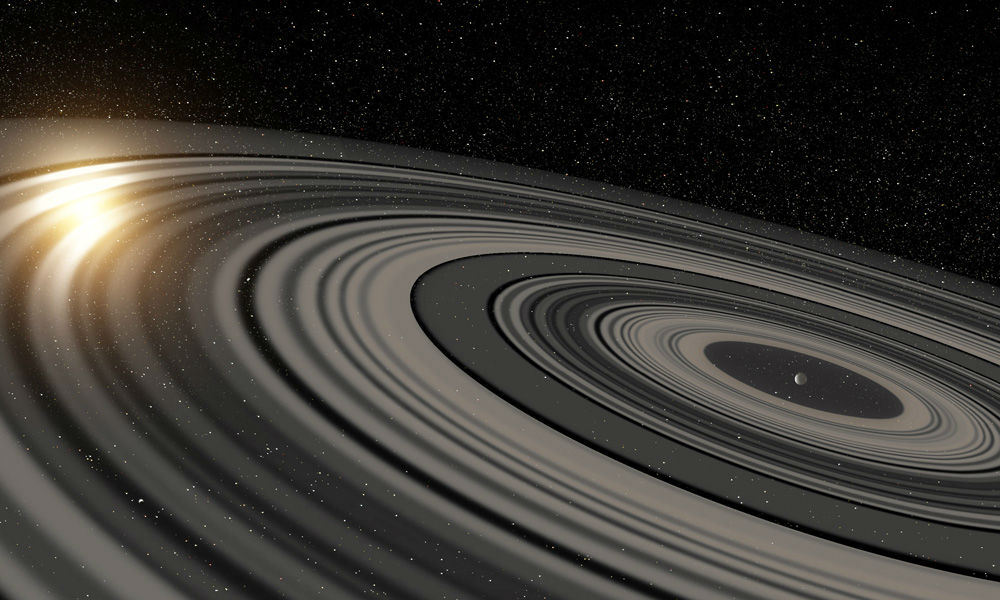 planet with 30 massive rings discovered