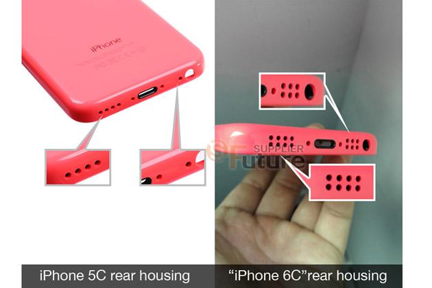 Apple Inc iPhone 6C rear housing 2