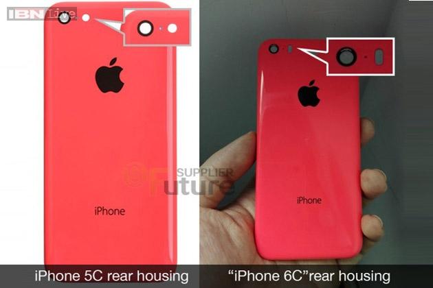 Apple iPhone 6C rear housing