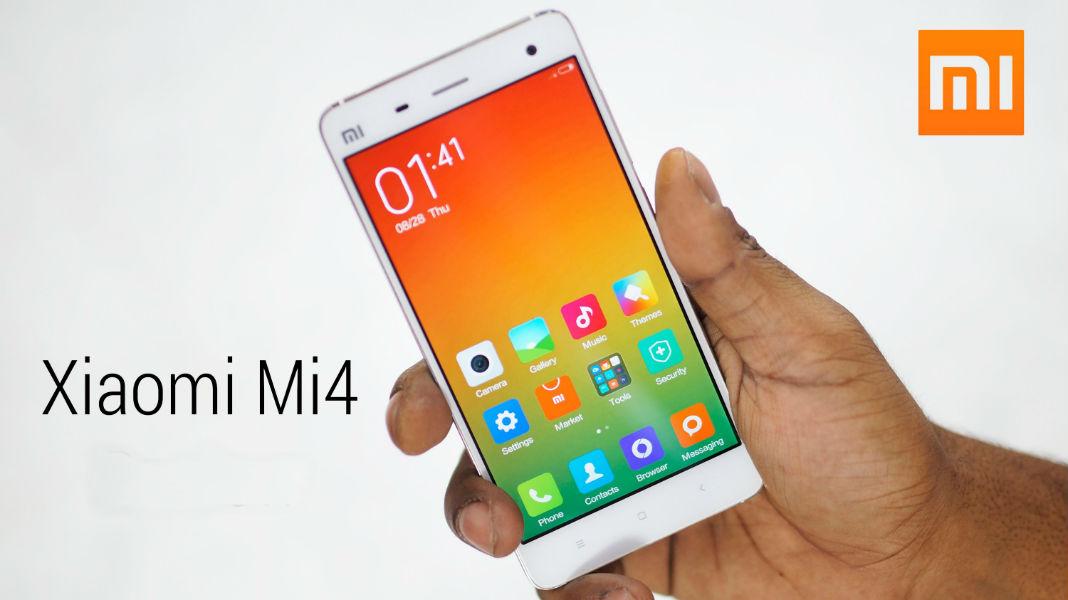 Xiaomi MI4 open sale TeCake