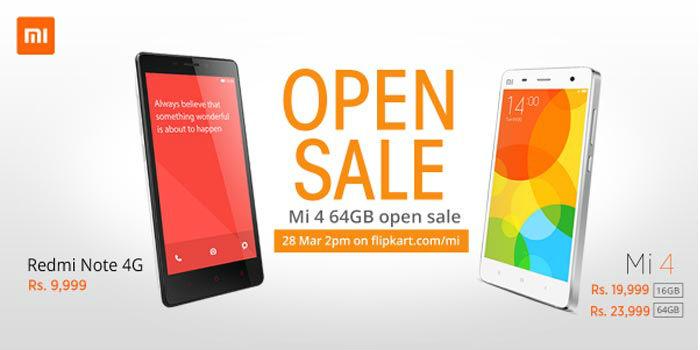 Xiaomi open sale tecake