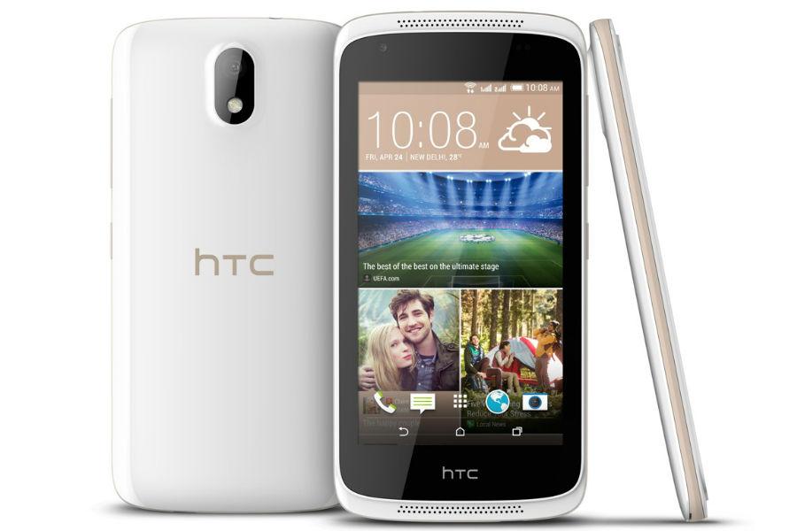 HTC Desire 326G Dual SIM smartphone TeCake