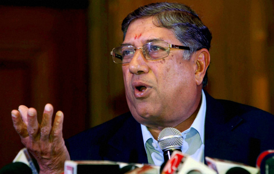 Srinivasan allegedly appoints London agency to snoop the BCCI Board Members