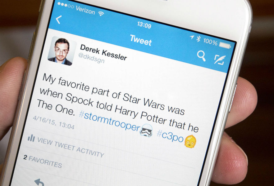 Star Wars Emoji release on twitter - TeCake