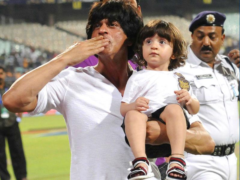 Wishing SRK's son AbRam a very Happy B'day