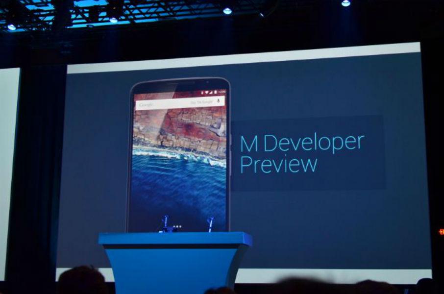 Android M at Google Io 15