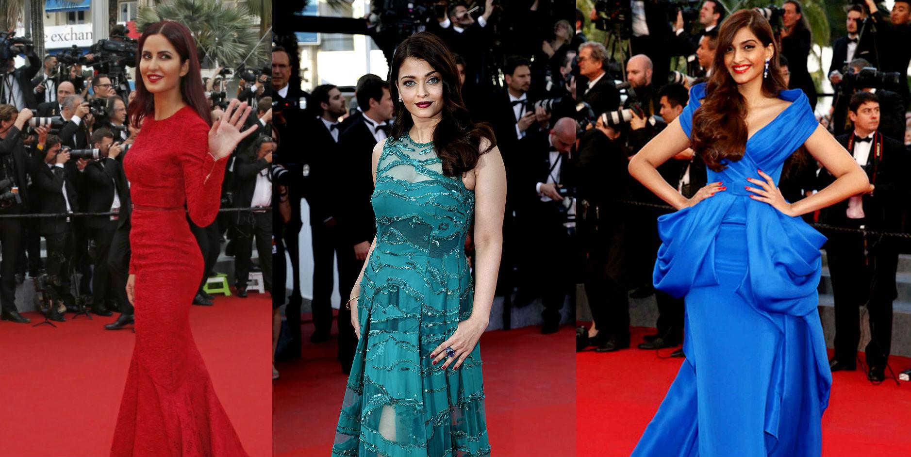 Katrina Aishwarya and Sonam at Cannes15 - TeCake