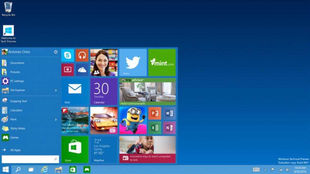 Microsoft Windows 10 TeCake