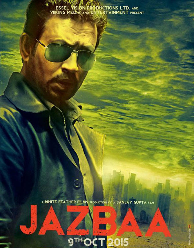 Irrfan Khan's 'Jazbaa' look revealed