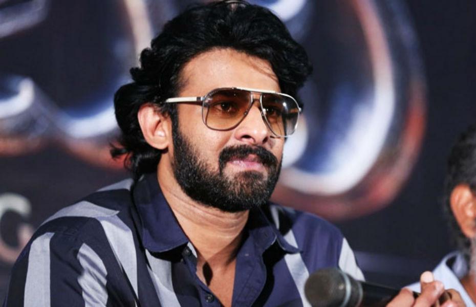Baahubali star Prabhas in a Press Meet TeCake