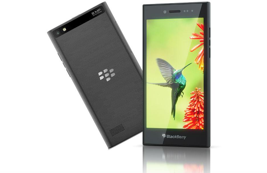 BlackBerry Leap TeCake