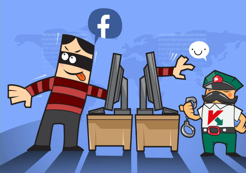 Facebook partners Kaspersky