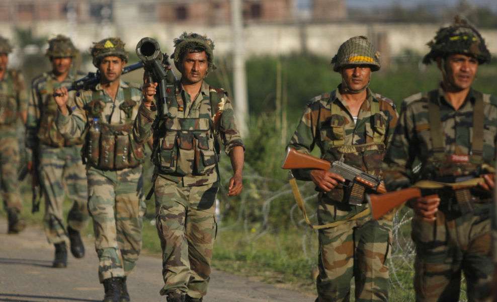 Four militants killed in a clash with Army in Kashmir TeCake