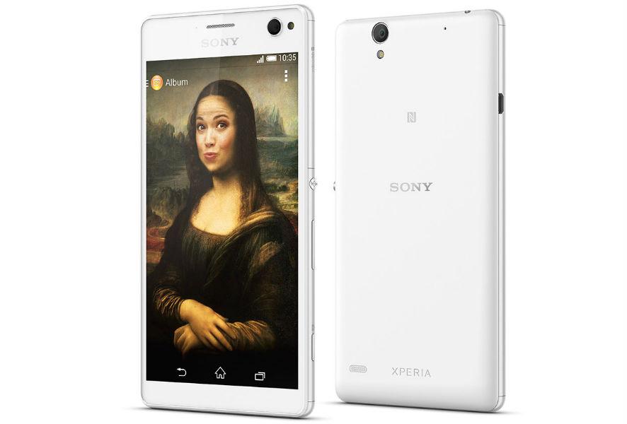 Sony Xperia C4 TeCake