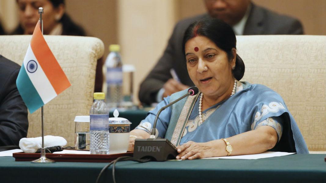 Sushma Swaraj TeCake