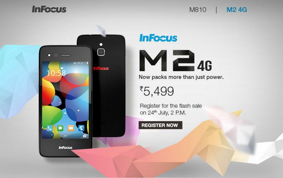 InFocus M2 4G TeCake