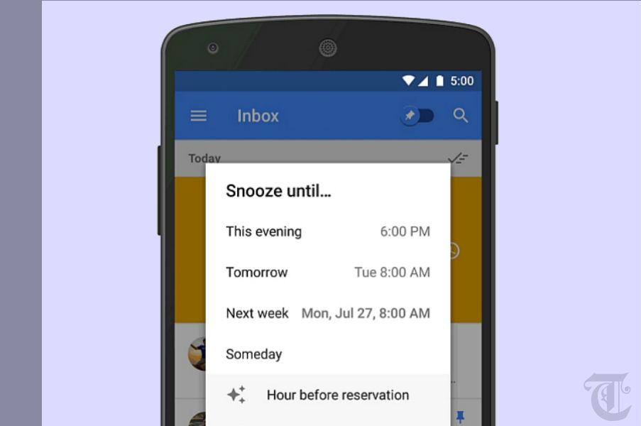 Inbox by Gmail TeCake