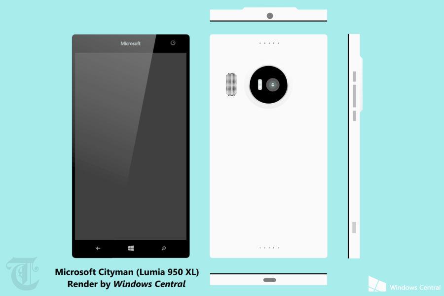Microsoft Lumia 950XL TeCake