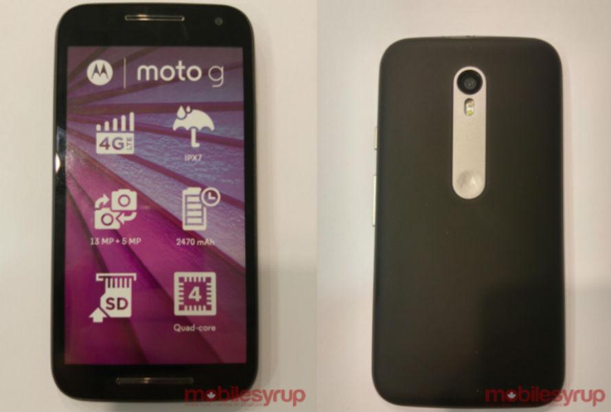 Moto G 2015 MobileSyrup - TeCake