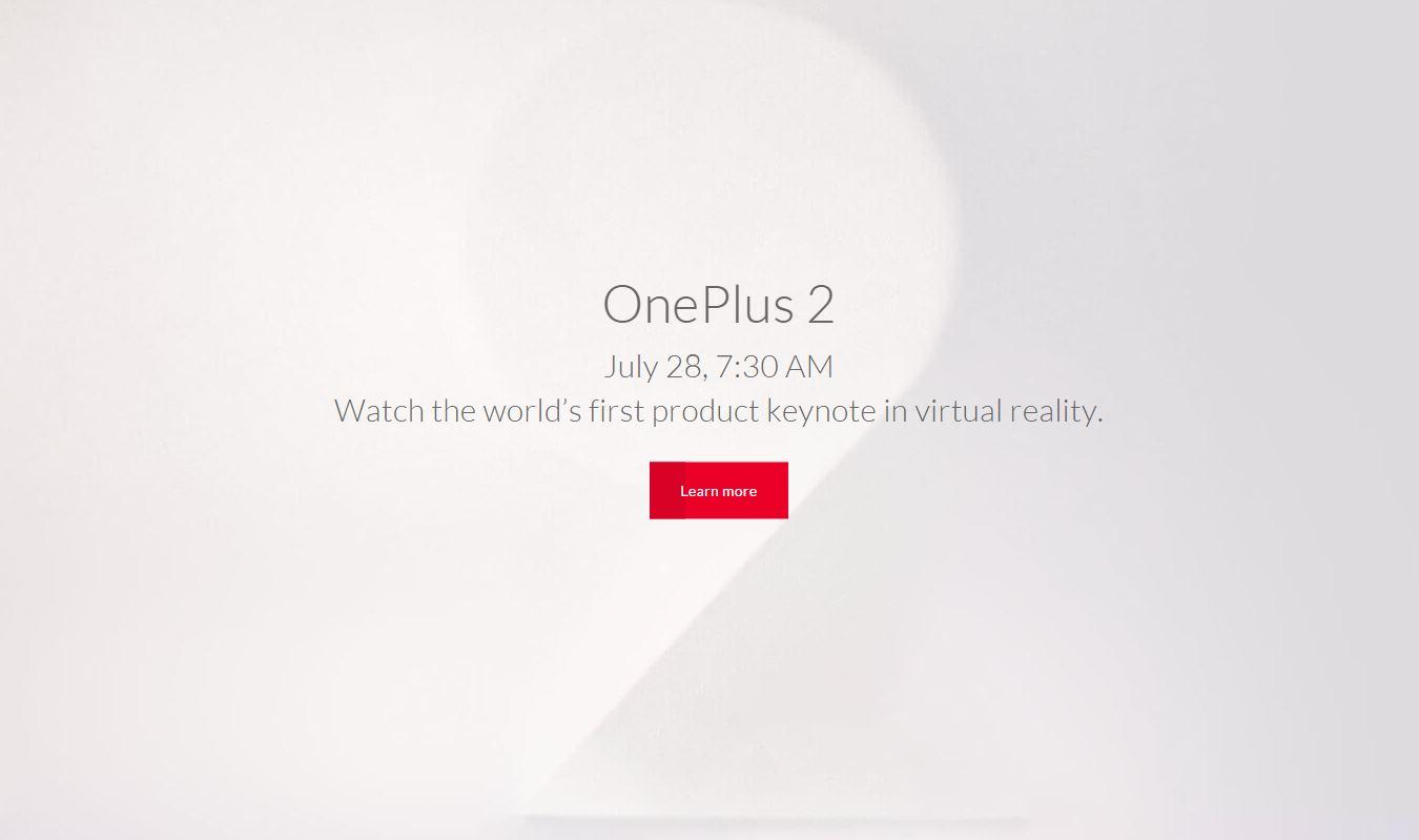 OnePlus 2 VR Launch TeCake