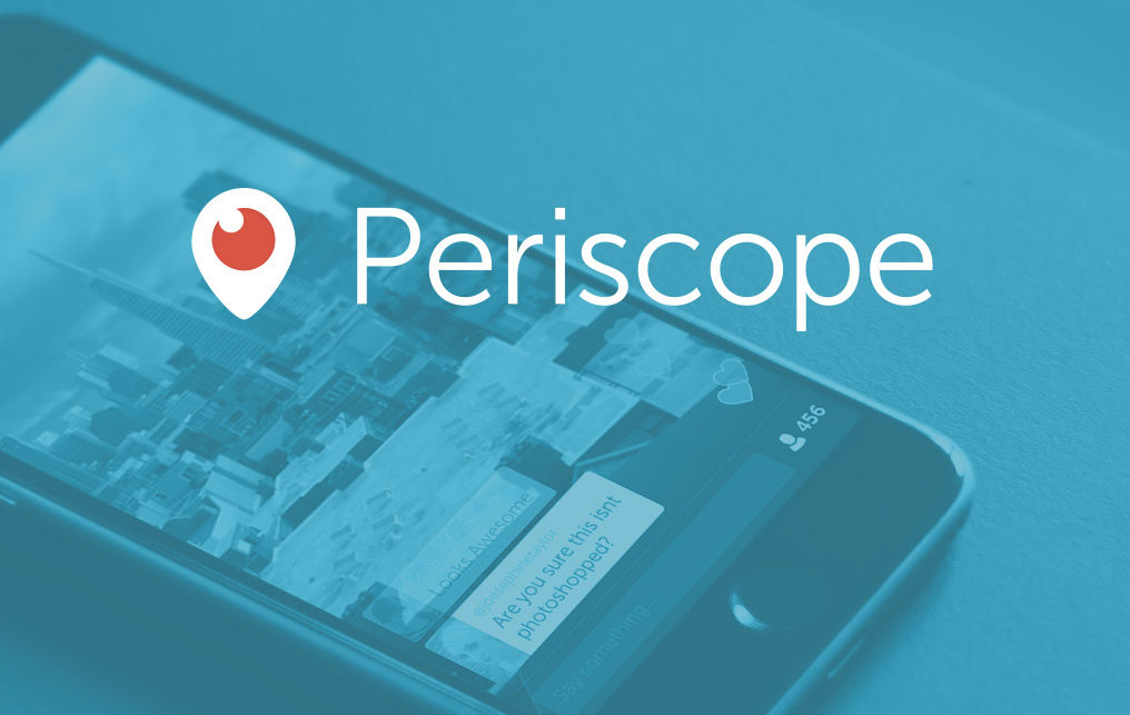Periscope live streaming app TeCake
