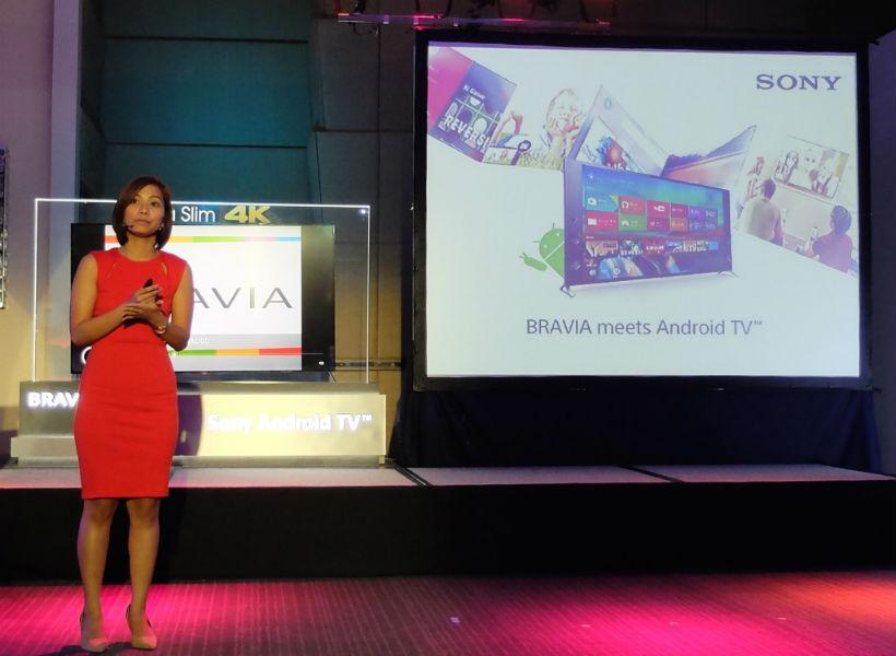 Sony Bravia 4K LED TV TeCake