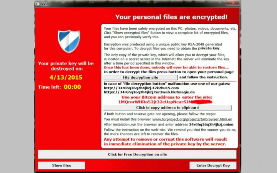 TeslaCrypt ransomware TeCake