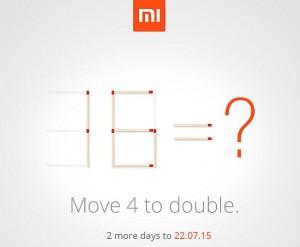 Xiaomi Mi4i 32GB july 22 2015 TeCake